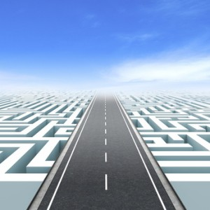 Leadership and business vision. Road to success